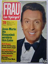 Frau im Spiegel  27/1972, Peter Alexander, Curd Jürgens, Barbara Hutton, Lanza R