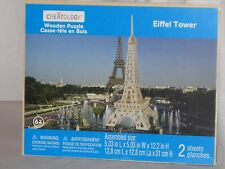 "Creatology 3D Wooden Puzzle ""Eiffel Tower"""