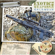 2014 Exotic Weapons Tactical Calendar 13 Months of Sexy Guns! M4 SIG COLT 1911
