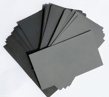 "SANDPAPER Wet / Dry 70pc. 3"" X 5 1/2"" COMBO 180/220/320/400/600/800/1000 Grit"