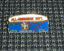 """ORLANDO FLORIDA ALL-AMERICAN VFW STATE CONVENTION 1.5""""  DOUBLE POST PIN"""