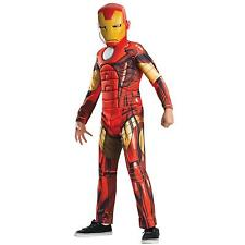 Marvel Avengers Assemble Chicos Niños Fancy Dress Costume 7-8 Años 122-128 Cm
