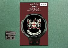 Royale Classic Car Badge & Bar Clip CITY of LONDON Mod B1.1129