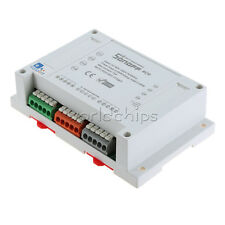 WIFI Remote Switch Sonoff 4CH Mounting On Din Rail Home Automation Phone APP