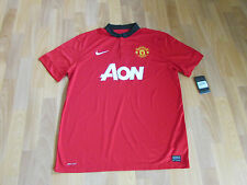 Nike MANCHESTER United JONES No 4 FOOTBALL Shirt ADULT XL NEW with TAGS