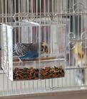 Seed No Mess Bird Feeder Parrot Toy Toys Canary Cockatiel Finch Tidy Corral Twee