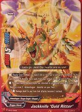 """FUTURE CARD BUDDYFIGHT JACKKNIFE """"GOLD RITTER"""" PR/0153EN"""