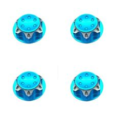 4pc Aluminium Wheel Hub Cover Antidust Cover 17mm HEX Nut For RC 1:8 Model Car B
