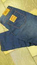 NEW FRESH BRAND ZIGGY JEANS MENS 34X33 SLIM FIT ROYAL  FREE SHIP
