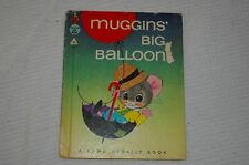 HC Vintage Rand McNally Muggins Big Ballooon TIP TOP ELF Book Childrens Mouse