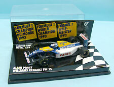 BRA14/1673 MINICHAMPS / F1 WILLIAMS RENAULT FW15 A. PROST WORLD CHAMPION 93 1/64