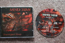 "MINDCRIME ""Tourniquet Sleep"" CD 2005, Power Metal Germany, neuwertig"