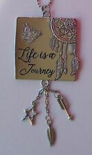 g Life is a Journey DREAM CATCHER Car Charm Mirror Ornament Ganz