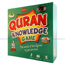 Quran knowledge Board Game Children Islamic Educational Toy Family Fun Eid Gif