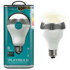 MiPow BTL100-SR-WW PLAYBULB Bluetooth Wireless Smart LED Speaker Light Bulb