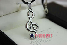 Vocaloid Hatsune Miku Musical Note Necklace Kagamine Rin Cosplay Pendant