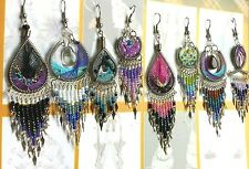 50 pairs dream catcher thread earring dangle handmade Peruvian alpaca silver