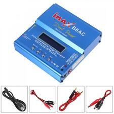 80W IMAX B6AC LiIon LiPo Nimh Nicd Battery Balance Charger Discharger with LCD