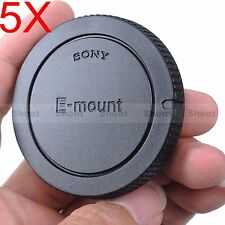 5x Finely-made Body Cover Cap for Sony NEX-5R NEX-5T E-mount Micro SLR Camera