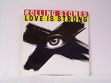 """ROLLING STONES """"LOVE IS STRONG / THE STORM"""" 45w/PS"""