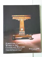 Philips Auctioneers Clocks & Watches Auction Catalogue 3rd September 2001