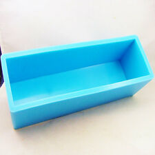 1.5kg Big Cuboid Soap Mould Flexible Silicone Candle Mold Polymer Clay Mold