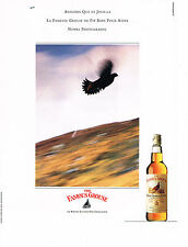 PUBLICITE ADVERTISING  1990    THE FAMOUS GROUSE  whisky