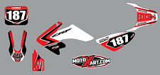 Honda CRF 50 - 2004 - 2012 - sticker kit SCREECH style decals stickers graphics