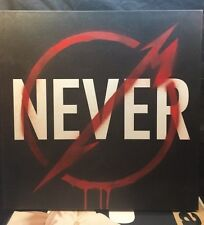 Metallica Through the Never Boxed LP Colored Vinyl Record 3 LP NM