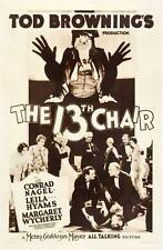 The Thirteenth Chair - 1929 - Conrad Nagel Tod Browning - Pre Code b/w Film DVD