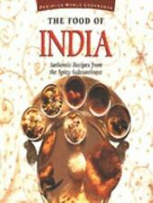The Food of India: Authentic Recipes from the Spicy Subcontinent (Food-ExLibrary