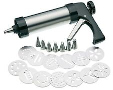 Stainless Steel Biscuit Cookie And Cupcake Making & Icing Decorating Set Gun