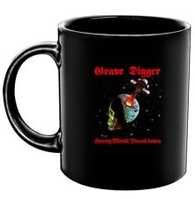 GRAVE DIGGER - Heavy Metal Breakdown - Coffee Mug - Tasse - Kaffeebecher - Neu