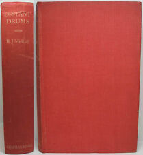 1935 ANGLO INDIAN NOVEL SET IN ENGLAND & INDIA DISTANT DRUMS BY R.J. MINNEY