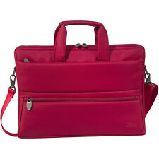 "M3113 RIVACASE 8630 Polyester Laptop Bag Tablet Compartment for 15.6"" Red"