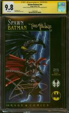 SPAWN/BATMAN 1 CGC 9.8 2X SS FRANK MILLER AND TODD MCFARLANE DOUBLE SIGNED MINT