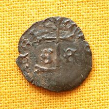 Medieval Hungarian Coin - Wladislaus  Denar SR With Double Cross, 1440-1444.