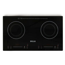 NEW Induction Cooker Protable 1800W Dual Burner Countertop Electric Stove Black