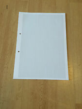 A4 Graph paper 1MM, 5MM and 10MM Grid / Square 30 Loose Sheets Double sided