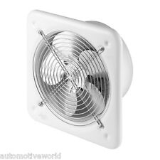 "Industrial Extractor Fan 250mm 10"" 240V 740 m3/h White Commercial Fan WO250"