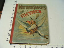 EARLY CHILDRENS BOOK--1886 MOTHER GOOSE'S NURSERY RHYMES McLoughlin Brothers