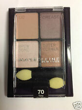 Maybelline Expert Wear Quad Eye Shadow TIME FOR WINE #70 NEW.