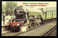 LMH Postcard  LONDON & NORTH EASTERN Railway 4-6-2 LNE L&NE #447 FLYING SCOTSMAN