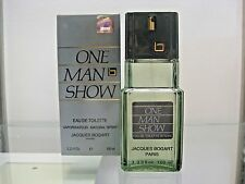 ONE MAN SHOW by JACQUES BOGART 3.3 FL.OZ. Eau de Toilette for Men - Original Box