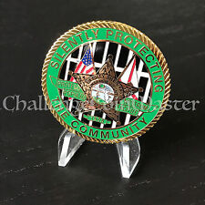 A2 St Lucie County FL Sheriffs Office Department of Detention Challenge Coin