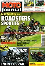 MOTO JOURNAL 1811 YAMAHA 500 Tmax Turbo DUCATI 1000 Monster KTM 990 Super Duke