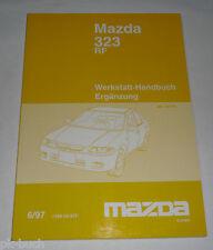 Werkstatthandbuch Mazda 323 RF Typ BA Motor Bremsen Getriebe etc., Stand 06/1997