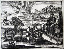 Vincenzo Maria Coronelli experimento con pólvora 1699 Venecia Venezia