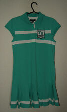 Tommy Hilfiger mint green sport dress for a girl 16 years size XL 97% cotton