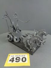 WARHAMMER AGE OF Sigmar Warriors of Chaos CARRO 490
